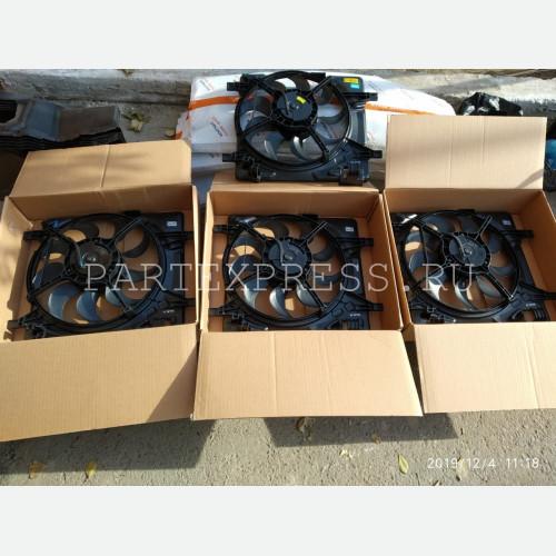 Вентилятор охлаждения двигателя   АКПП