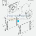 Радиатор охлаждения1.6 LXT ( МКПП)