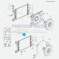 Радиатор охлаждения 1.6-1.8 LDE (АКПП)
