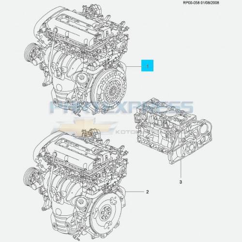 Двигатель 1.6-1.8 LDE
