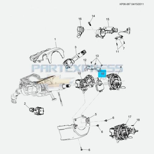 Датчик положения рулевого колеса
