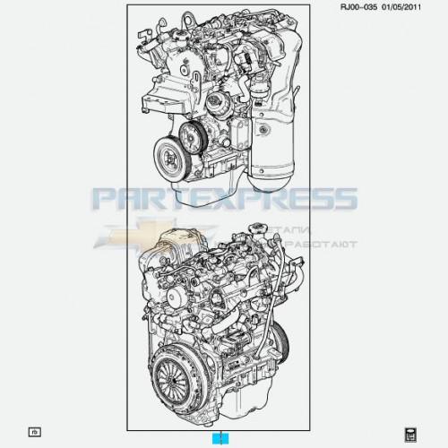 Двигатель дизельный 1,3 L