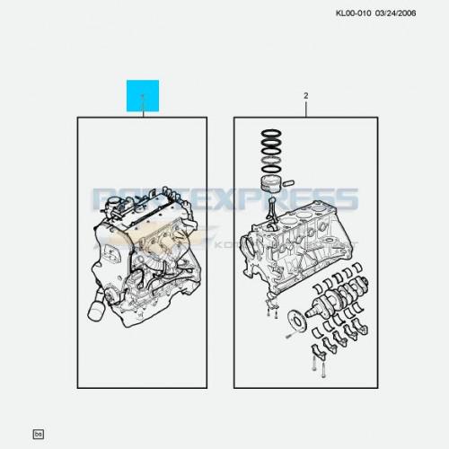 Двигатель 2.4 Б/У