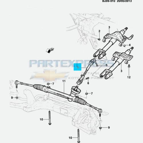 Вал рулевого управления промежуточный