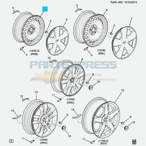 Диск колеса штамповка