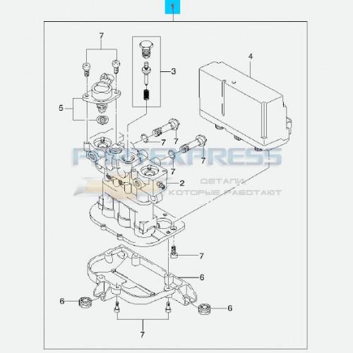 Блок управления ABS гидравлич.