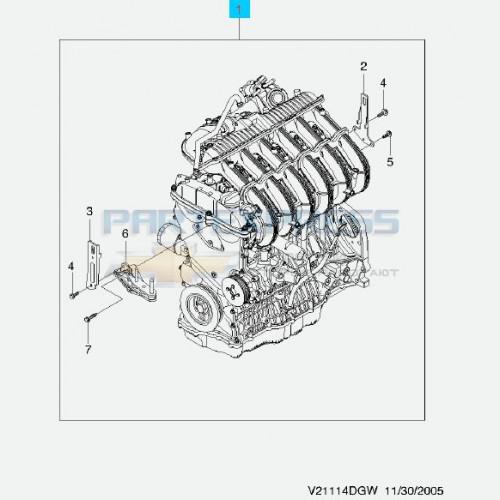 Двигатель 2.0 Б/У