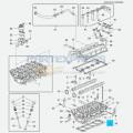 Прокладка головки блока цилиндров 1.6 LXT 109 л.с.