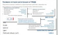 Сервис «авто история» для покупателей подержанных автомобилей в Москве
