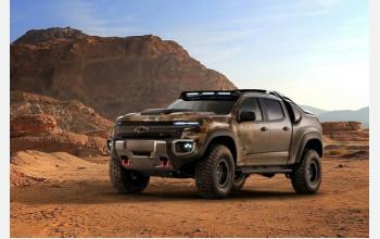 Chevrolet представит два новых внедорожника
