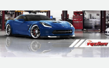 Первый тюнинг Chevrolet Corvette Stingray