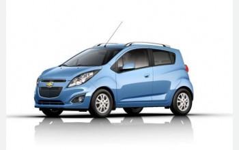 Компания Chevrolet оснастила Spark 2014 вариатором